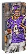 Brett Favre Minnesota Vikings Portable Battery Charger
