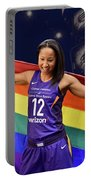 Briann January Lgbt Pride 2 Portable Battery Charger