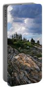 Brick Bell House At Pemaquid Point Light Portable Battery Charger