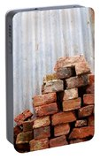 Brick Piled Portable Battery Charger by Stephen Mitchell