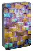 Brick Wall In Abstract 499 S Portable Battery Charger