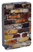 Brick Wall Portable Battery Charger by Tim Good