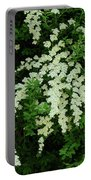 Bridal Wreath Portable Battery Charger