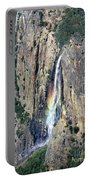 Bridalveil Falls From Above - Yosemite Portable Battery Charger