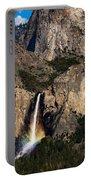 Bridalveil Falls Rainbow #3 Portable Battery Charger