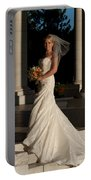 Bride In A Park Portable Battery Charger