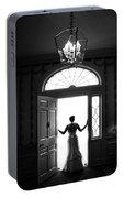 Bride Silhouette  Portable Battery Charger