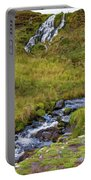 Brides Veil Waterfall Portable Battery Charger