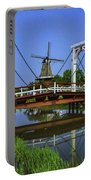 Bridge And Windmill Portable Battery Charger