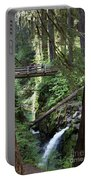 Bridge At Sol Duc Fall #1 Portable Battery Charger
