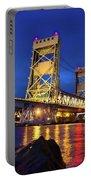 Bridge Houghton/hancock Lift Bridge -2669 Portable Battery Charger