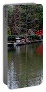 Bridge In Bamboo Garden Portable Battery Charger