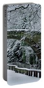 Bridge In Snow Portable Battery Charger