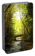 Bridge In The Rainforest Portable Battery Charger