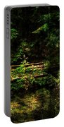 Bridge In The Woods Portable Battery Charger
