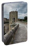 Bridge Of Besalu, Girona Provence, Catalonia, Spain-2 Portable Battery Charger