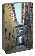 Bridge Of Sighs - Barcelona Portable Battery Charger