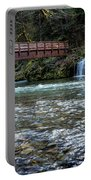 Bridge Over Hackleman Creek Portable Battery Charger