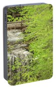 Bridge Over Little Clifty Falls Portable Battery Charger
