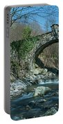 Bridge Over Peaceful Waters - Il Ponte Sul Ciae' Portable Battery Charger by Enrico Pelos