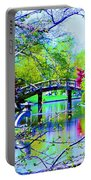 Bridge Over Peaceful Waters Portable Battery Charger