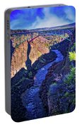 Bridge Over The Crooked River Gorge Portable Battery Charger