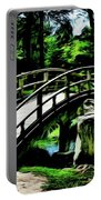 Bridge Over The Stream Portable Battery Charger