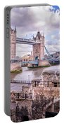Bridge Over The Thames Portable Battery Charger