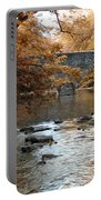 Bridge Over The Wissahickon At Valley Green Portable Battery Charger