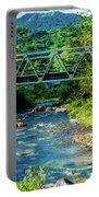 Bridge Over Tropical Dreams Portable Battery Charger