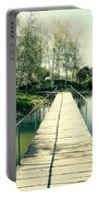 Bridge To Evening Island Portable Battery Charger