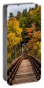 Bridge To Rainbow Falls Portable Battery Charger