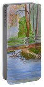 Bridge To Serenity   Smithgall Woods State Park Portable Battery Charger