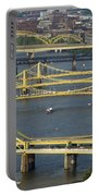 Bridges Of Pittsburgh Portable Battery Charger