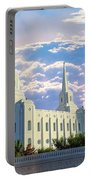 Brigham City Utah Temple Portable Battery Charger