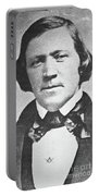 Brigham Young  Second President Of The Mormon Church, Aged 43, 1844 Portable Battery Charger