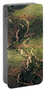Bright Angel Trail Abstract Portable Battery Charger