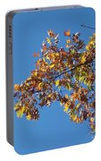 Bright Autumn Branch Portable Battery Charger