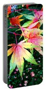 Bright Autumn Leaves Tatton Park Portable Battery Charger