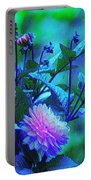 Bright But Modest, Dahlia Mom. Portable Battery Charger