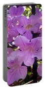 Bright-lillac Flowers 6-22-a Portable Battery Charger