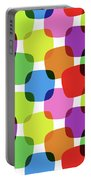 Bright Squares Portable Battery Charger