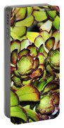 Bright Succulents Portable Battery Charger