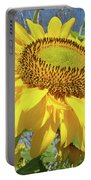 Bright Sunny Happy Yellow Sunflower 10 Sun Flowers Art Prints Baslee Troutman Portable Battery Charger