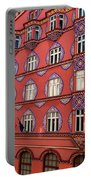 Brightly Colored Cooperative Business Bank Building Or Vurnik Ho Portable Battery Charger