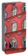 Brightly Colored Facade Vurnik House Or Cooperative Business Ban Portable Battery Charger