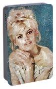 Brigitte Bardot, Actress Portable Battery Charger