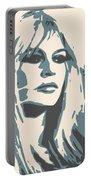 Brigitte Bardot Poster 2 Portable Battery Charger