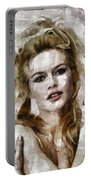 Brigitte Bardot, Vintage Actress Portable Battery Charger