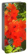 Brilliant Blossoms Portable Battery Charger